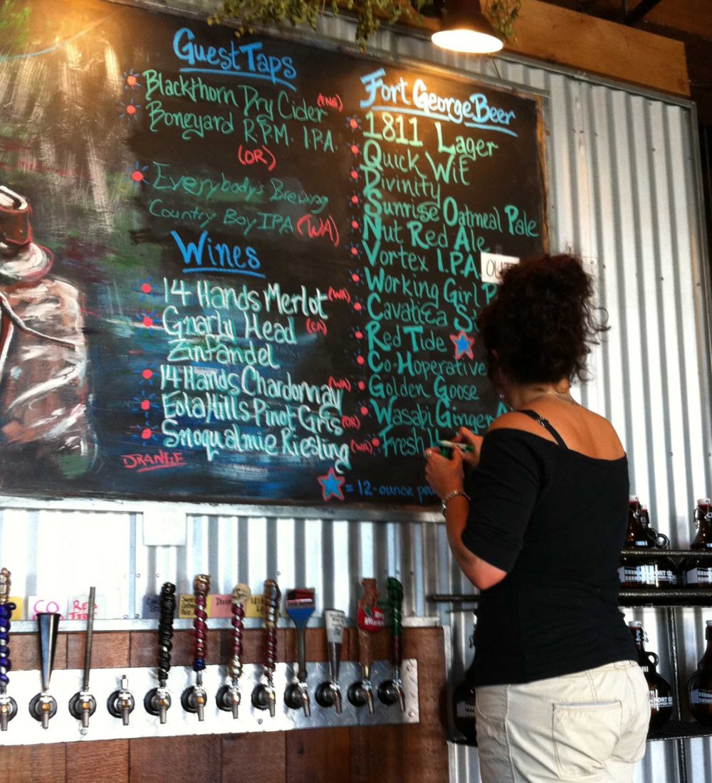 108. Fort George Brewery, Astoria, OR 2011