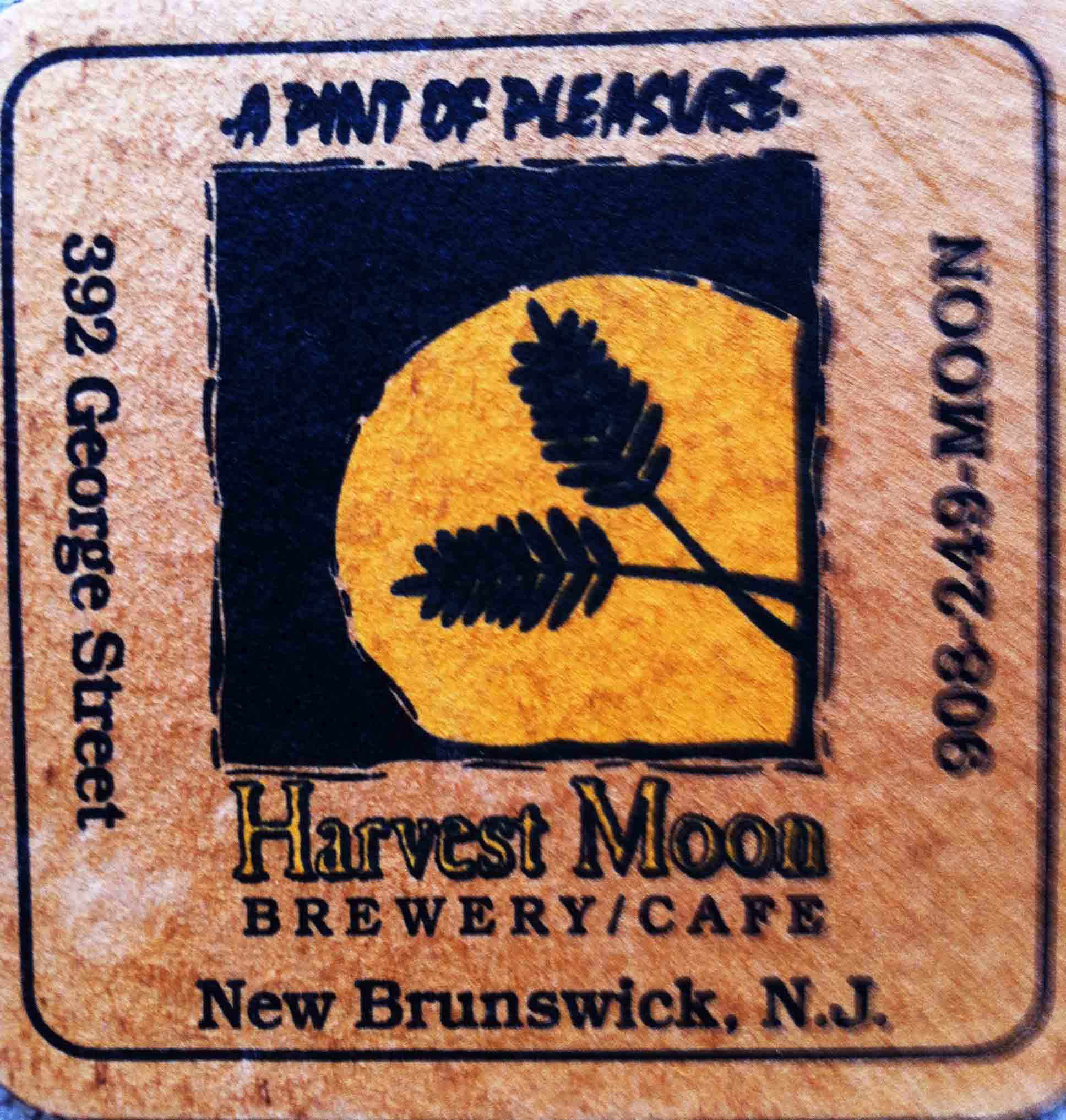 14. Harvest Moon, New Brunswick NJ 1996