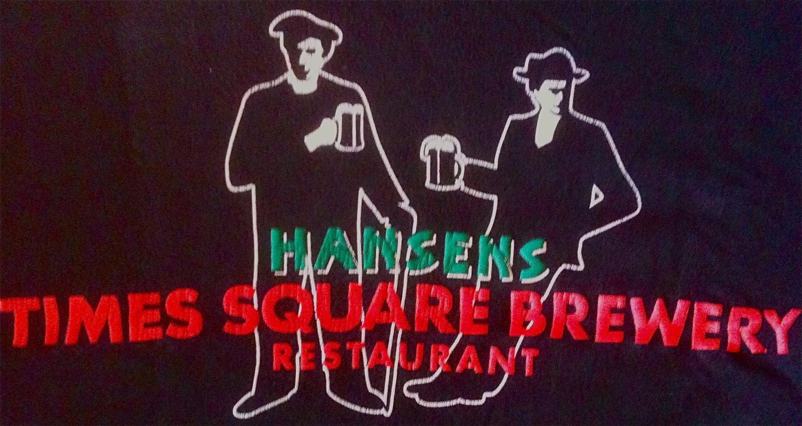 22. Times Square Brew Pub, New York NY 1998