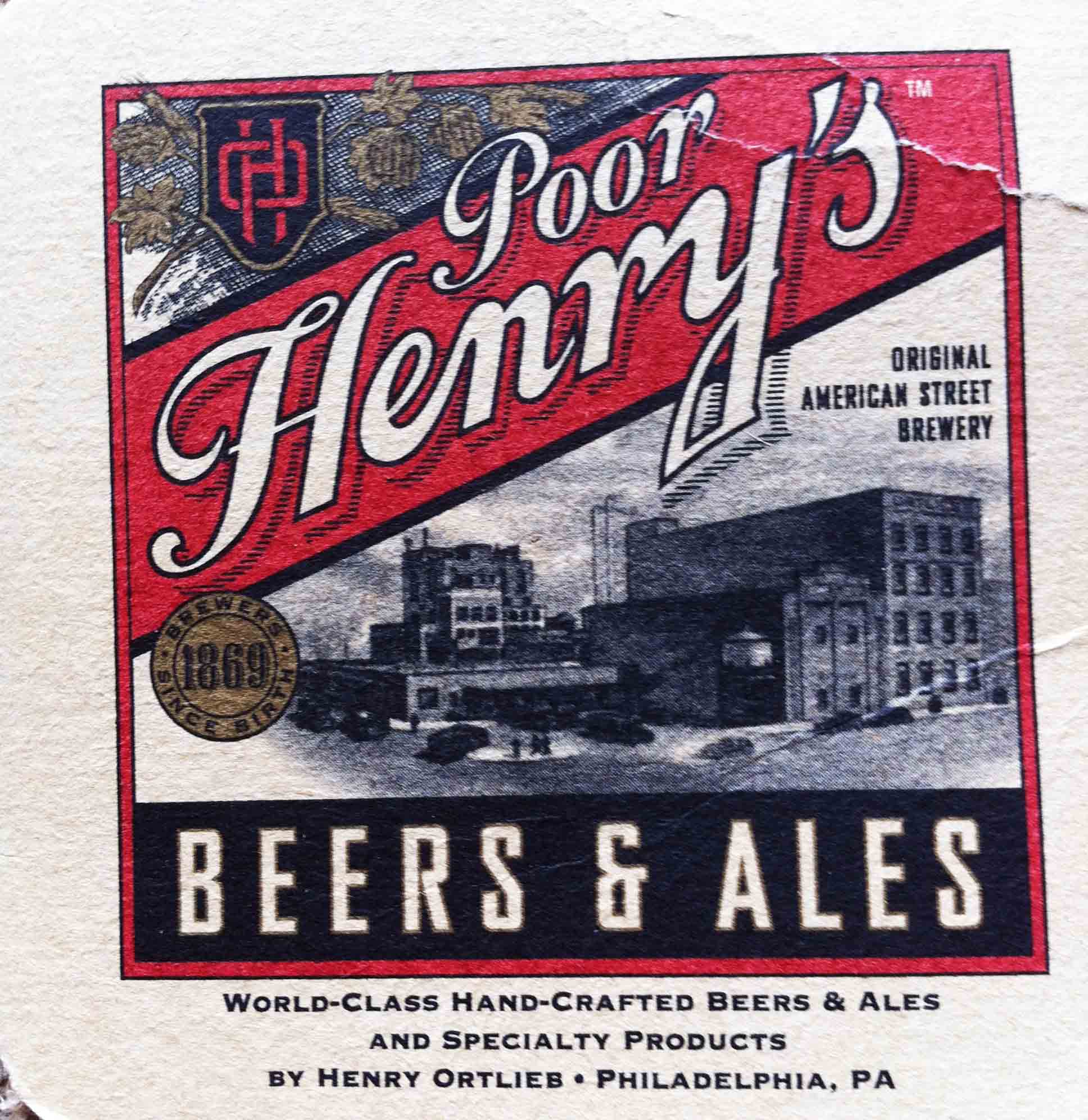 44. Poor Henry's Brewery and Grille, Philadelphia PA 2003