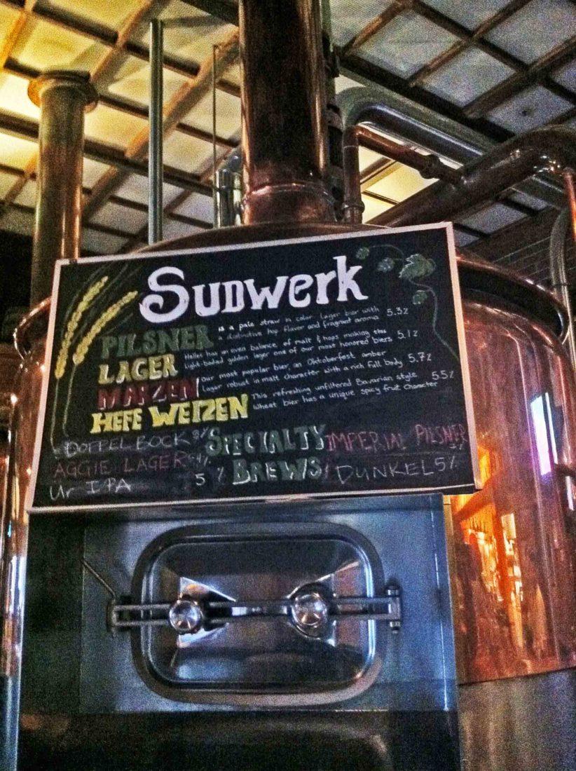 116. Sudwerk Brewery, Davis, CA 2012
