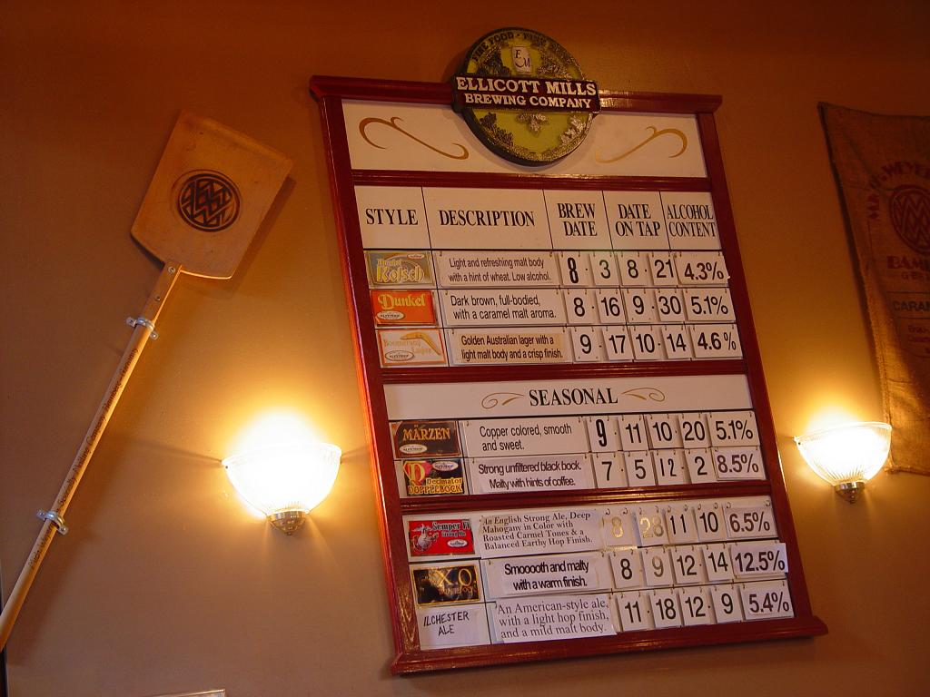 53. Ellicott Mills Brewing Co, Ellicott City MD 2005