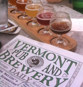 Many fine beers to taste at the VPB