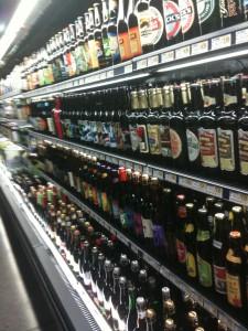Beers in Wegmans