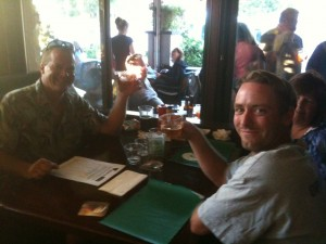 Beer Appreciation at the Oakmont Pub last Philly Beer Week