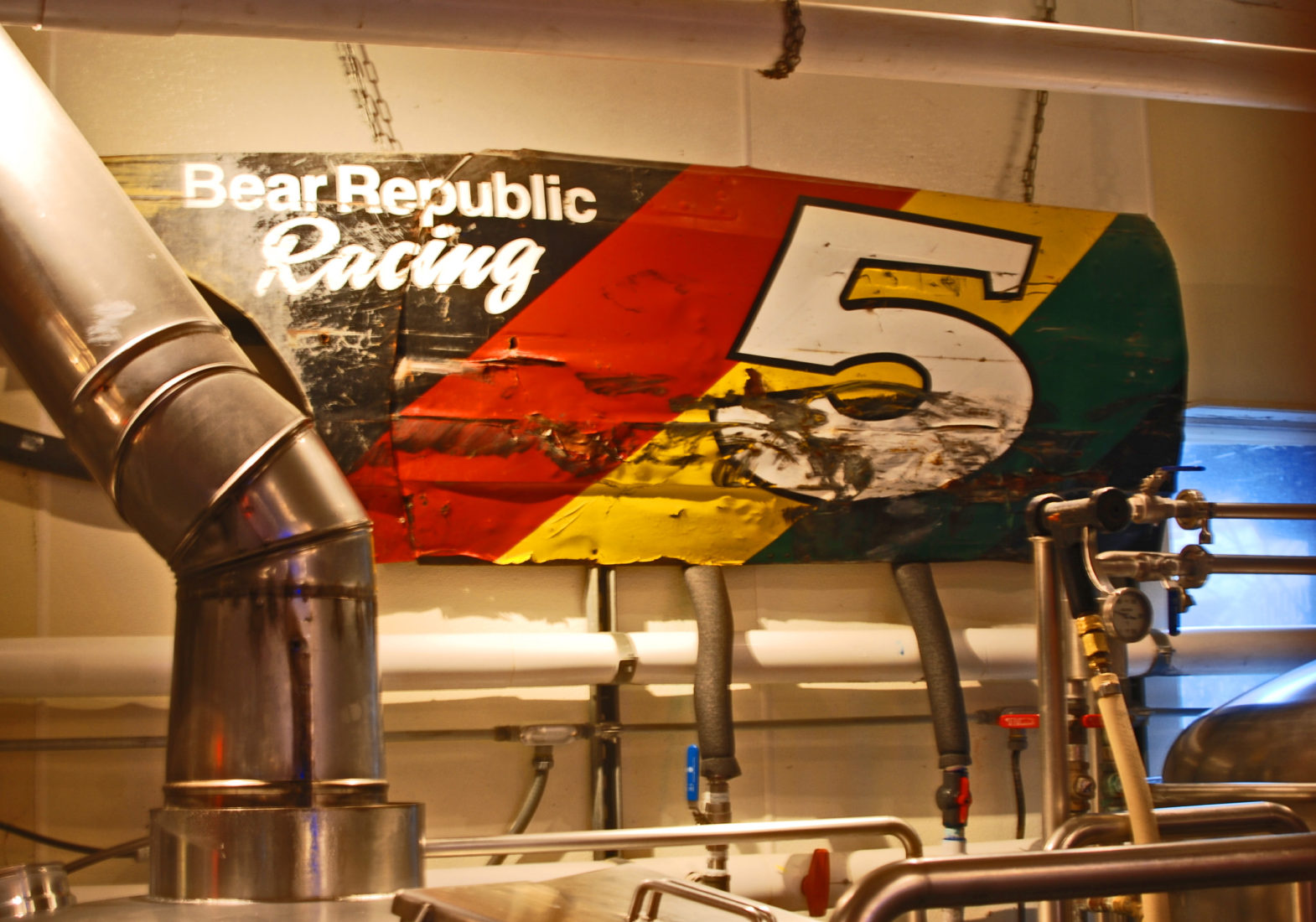 Bear Republic Brewpub, Healdsburg CA