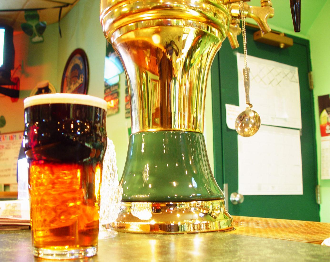 Black and Tan, Annie's Pub, Ardmore PA