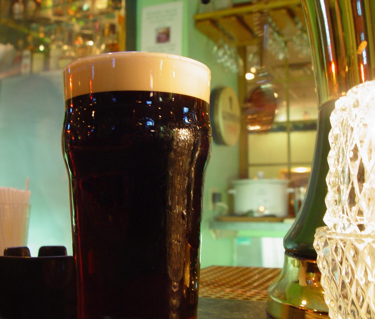 Guinness Pint, Annie's Pub, Ardmore PA