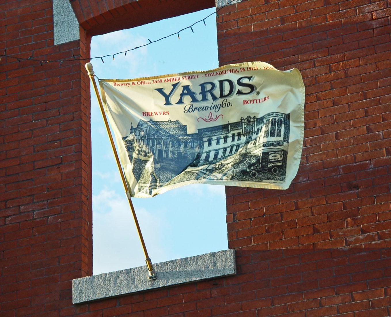 Yards Flag, Yards Brewery, Philadelphia PA