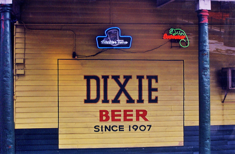 Dixie Beer Sign, New Orleans LA