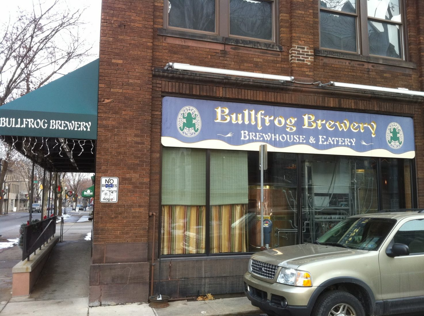 70. Bullfrog Brewery, Williamsport PA 2006
