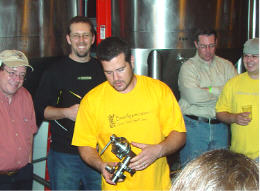 Manayunk Brewery Brewmaster Chris Firey