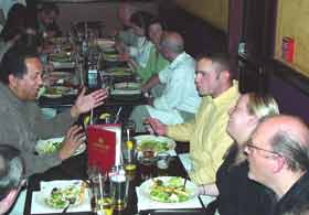 Class Beer Dinner at Gullifty's – Spring '06