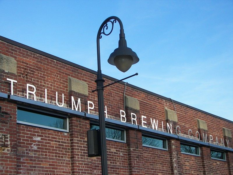 55. Triumph Brewing, New Hope PA 2005