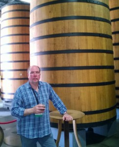 I am stunned at the barrels...and the beer at New Belgium