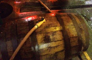 Cleaning out a slippery barrel