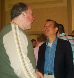 Sharing a laugh with Jim Koch of Sam Adams is easy!
