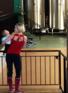 The entire family can enjoy the brewery