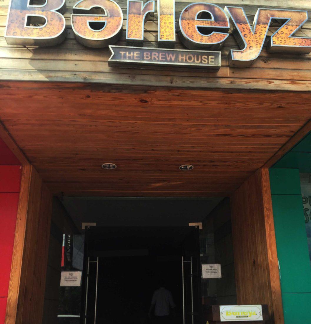 257. Barleyz Brew House, Bangalore India, 2015
