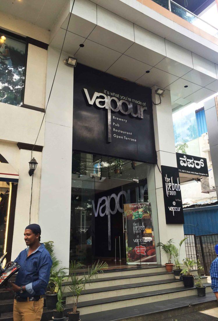 259. Vapour Brewery & Pub, Bangalore India, 2015