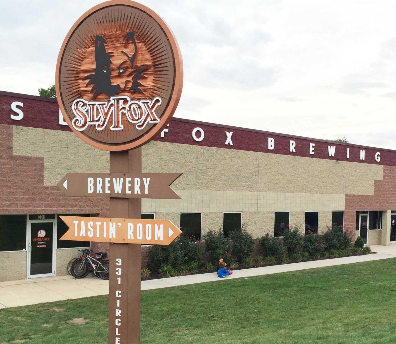 249. Sly Fox Brewery, Pottstown PA, 2015
