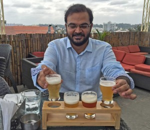 Sourav offers choices of brews at Vapour