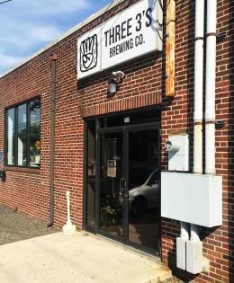285. Three 3's Brewing, Hammonton NJ, 2016