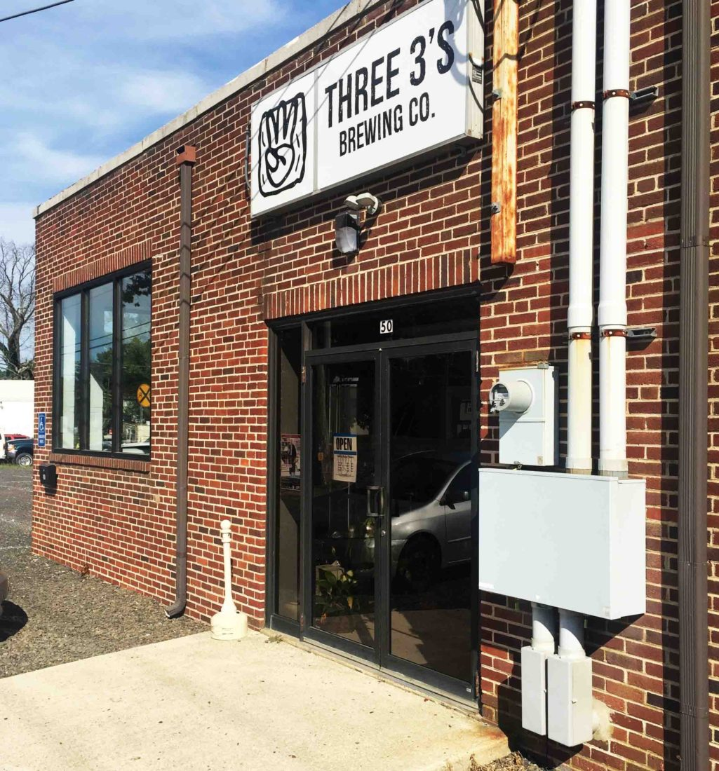 285. Three 3's Brewing, Hammonton NJ, 2016