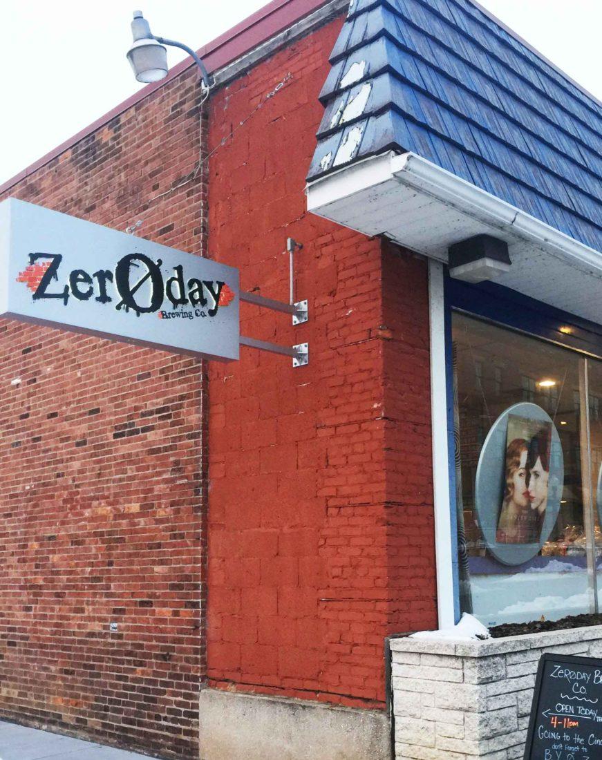 264. Zeroday Brewing, Harrisburg PA, 2015
