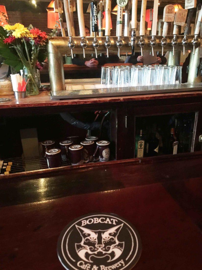 322. Bobcat Brewery and Cafe, Bristol VT, 2017