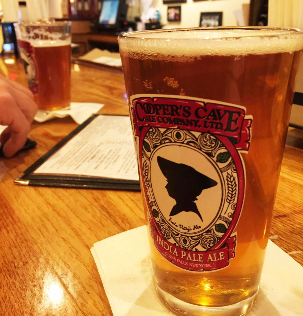 319. Coopers Cave Brewery, Glens Falls NY, 2017