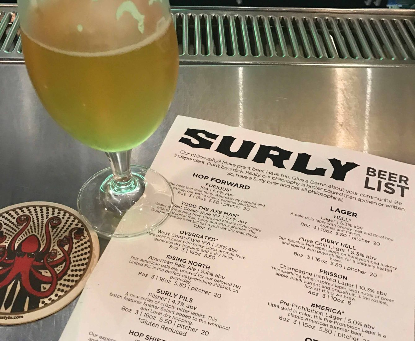 334. Surly Brewing Company, Minneapolis MN, 2017