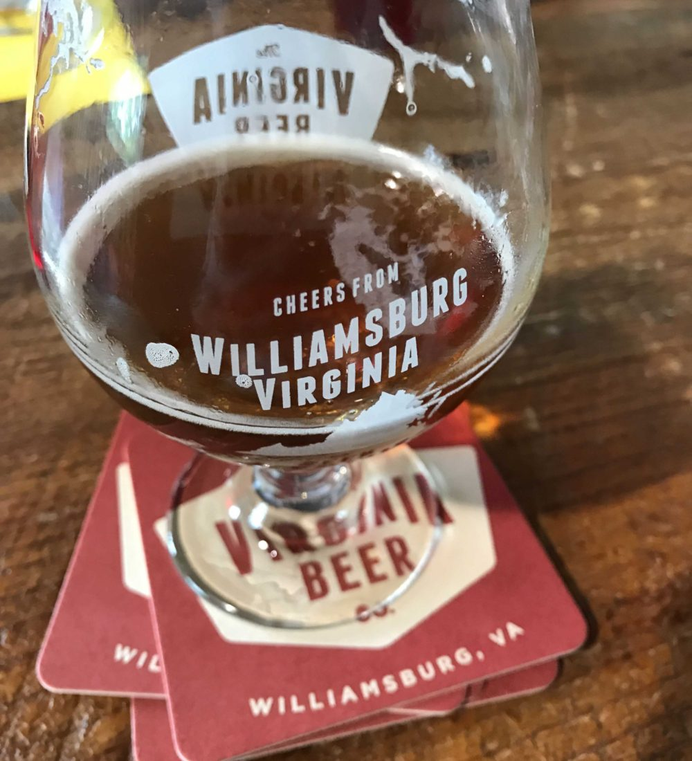 333. Virginia Brewing Company, Williamsburg VA, 2017