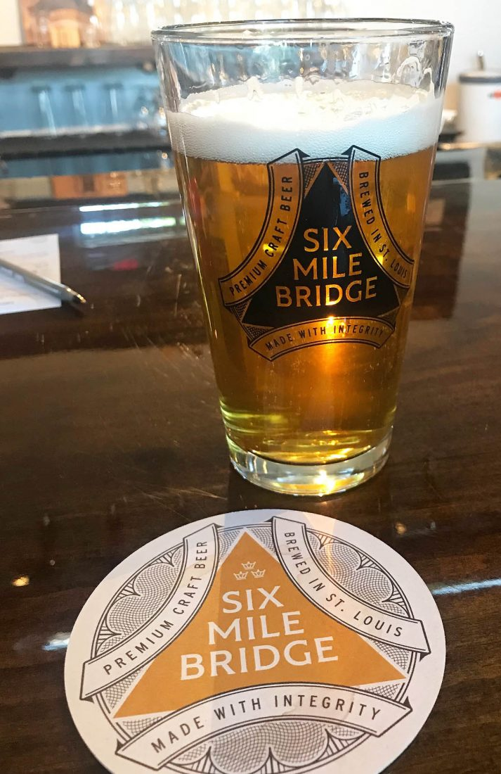 376. Six Mile Bridge Beer, St. Louis Mo, 2018
