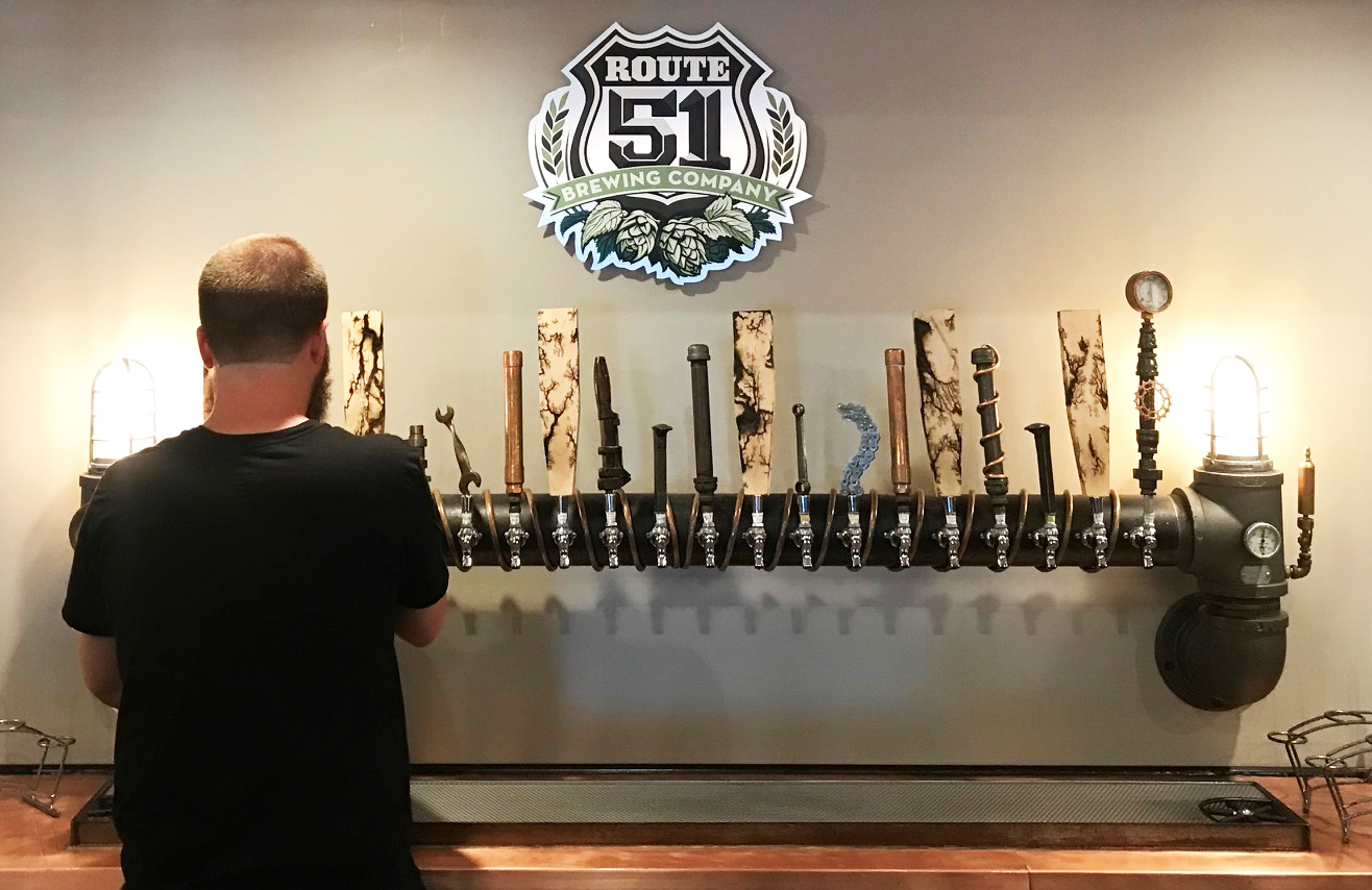 374. Route 51 Brewing Company, Elkville IL, 2018