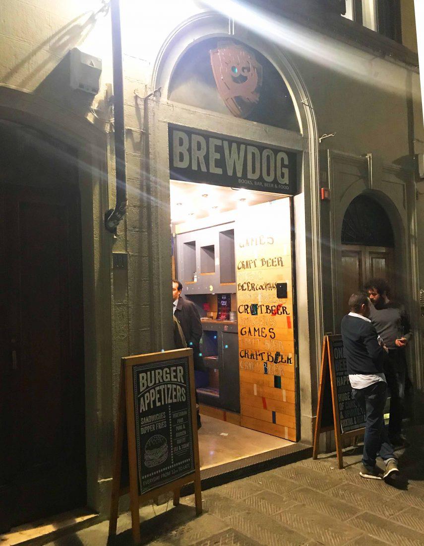 395. Brewdog Pub, Florence Italy, 2018