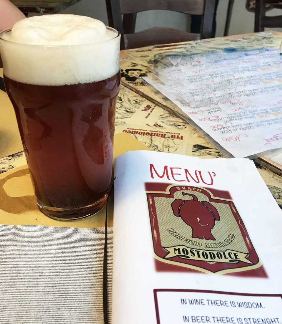 394. Mostodolce Brewery, Florence Italy, 2018