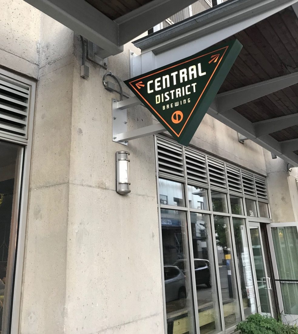 419. Central District Brewery, Austin TX, 2019