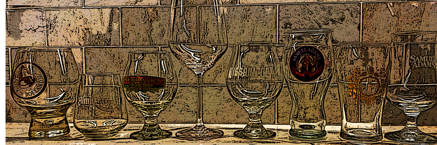 Ode to Beer Glassware…Sheltered in Place