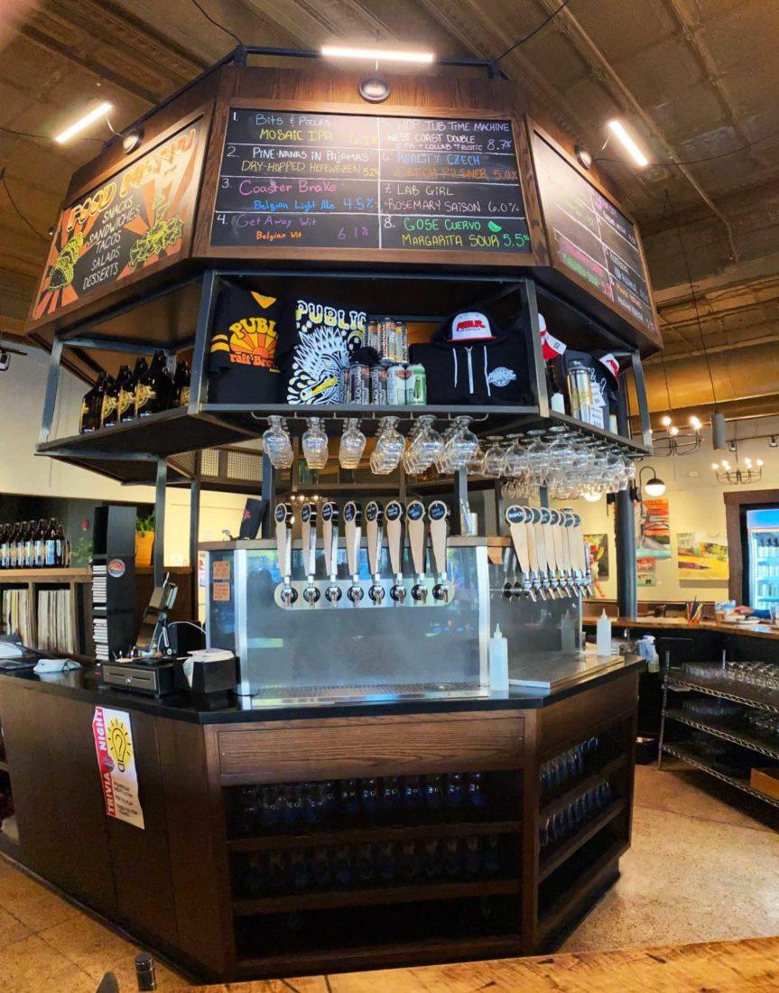 489. Public Brewing Co (new location), Kenosha WI, 2021